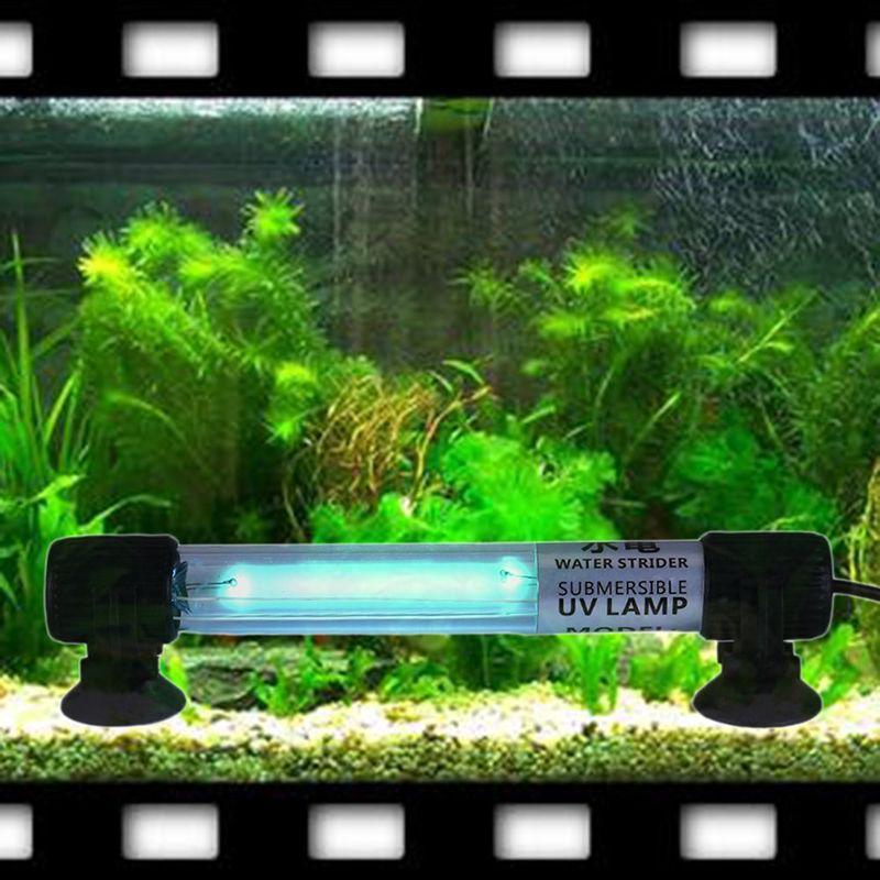 110v Waterproof Aquarium Fish Tank Mini Uv Light Submersible Uv Sterilizer Lamp Uvc Filter 5w 7w 9w 11w Fish Tank Aquarium Fish Tank Aquarium Systems