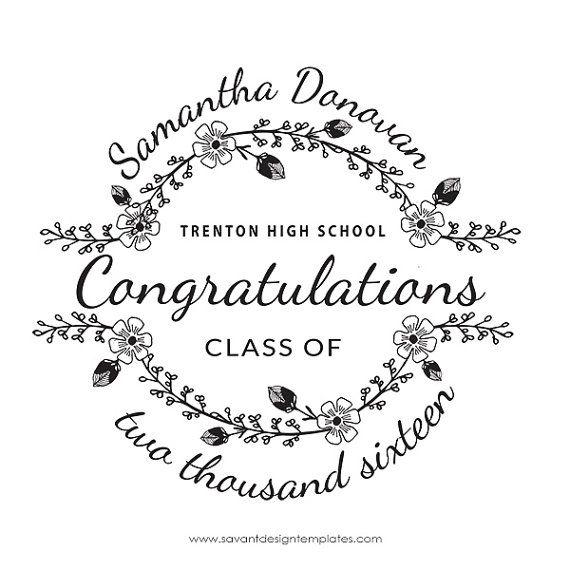 New! Graduation Photoshop Overlay, Grad Congratulations by