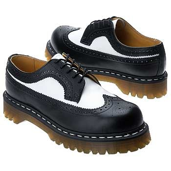 Black and White 3989 Bex Brogues