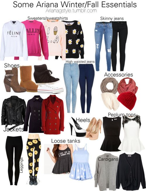 Ariana Grande Winter Style   Requested*Some Ariana Winter/Fall Essentials By Rachelhunter78 ...