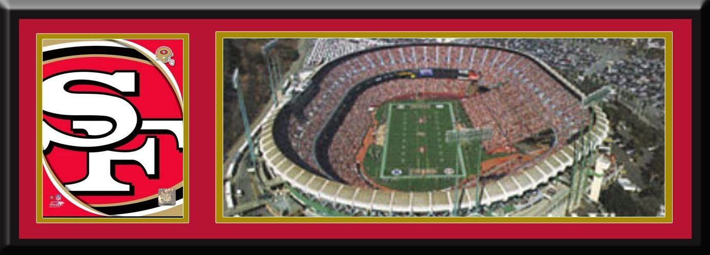 Photo of San Francisco 49ers Candlestick Park Aerial View Large Stadi…