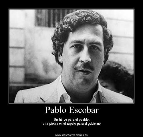 pablo emilio escobar gaviria essay Has pablo escobar gaviria said anything about president cesar gaviria trujillo for having the same last name as he did why did president gaviria not seek a second term in colombia despite having eliminated pablo escobar.