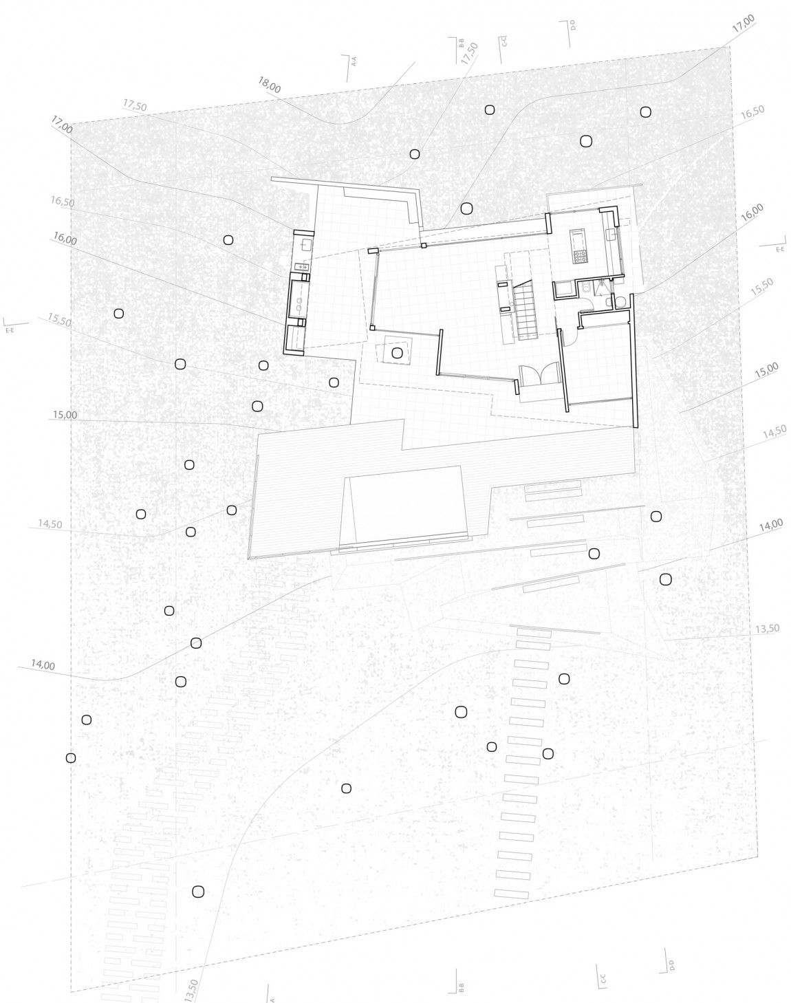 Fresno House by Felix Raspall Federico Papandrea 19 – Site Drawings For Site Plan