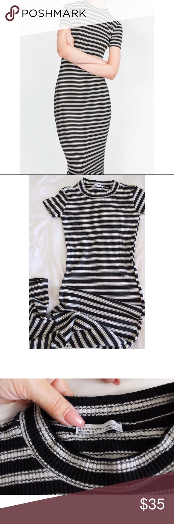 Size qvc white with dress stripe bodycon black zara websites online