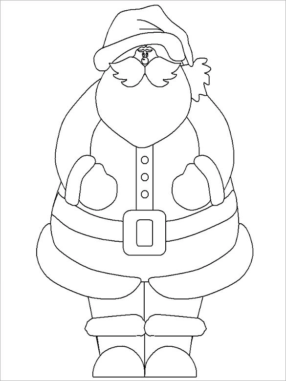 34 Christmas Colouring Pages Free Jpeg Png Eps Format Download Santa Coloring Pages Printable Christmas Coloring Pages Christmas Coloring Pages