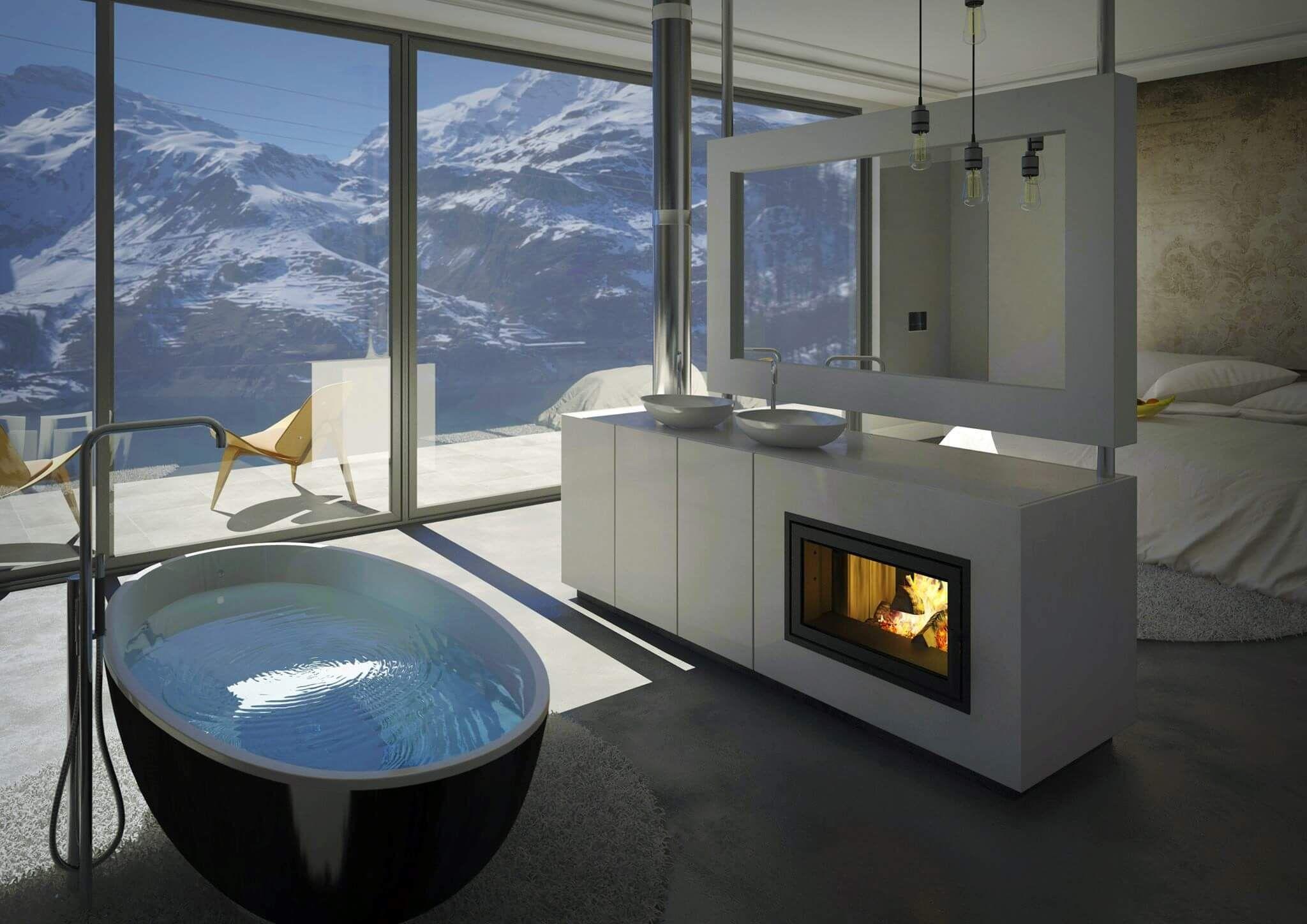 Bildergebnis für badewanne im schlafzimmer | Bad | Pinterest ...