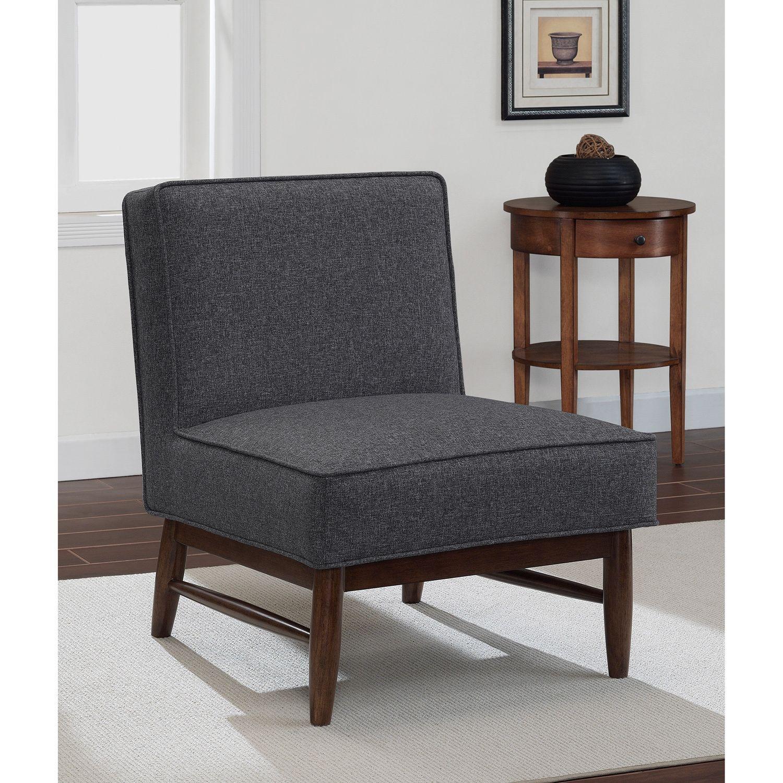 Slipper Chairs Living Room - Ella granite slipper chair overstock com shopping the best deals on living room