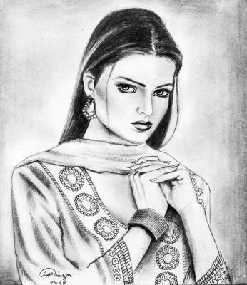 Online contest best pencil sketch