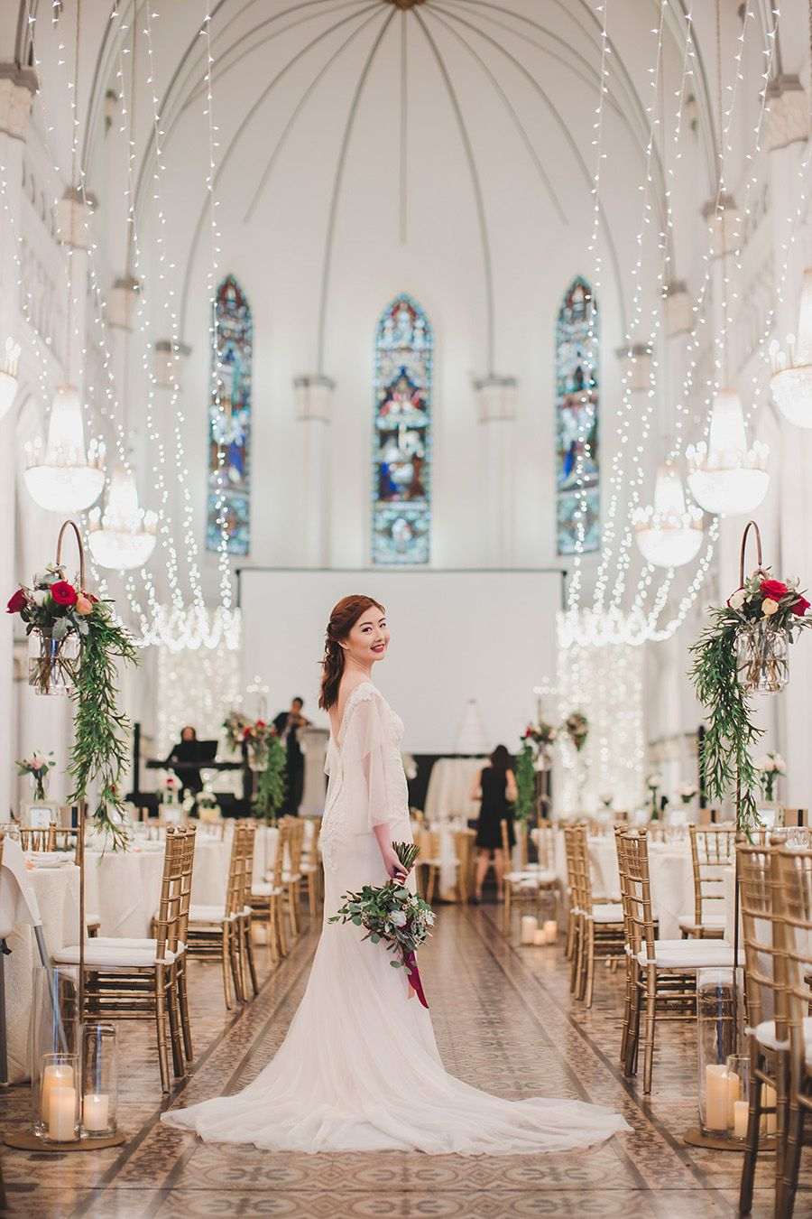 Weiliang and Priscilla\'s Minimalist Singapore Wedding at CHIJMES ...