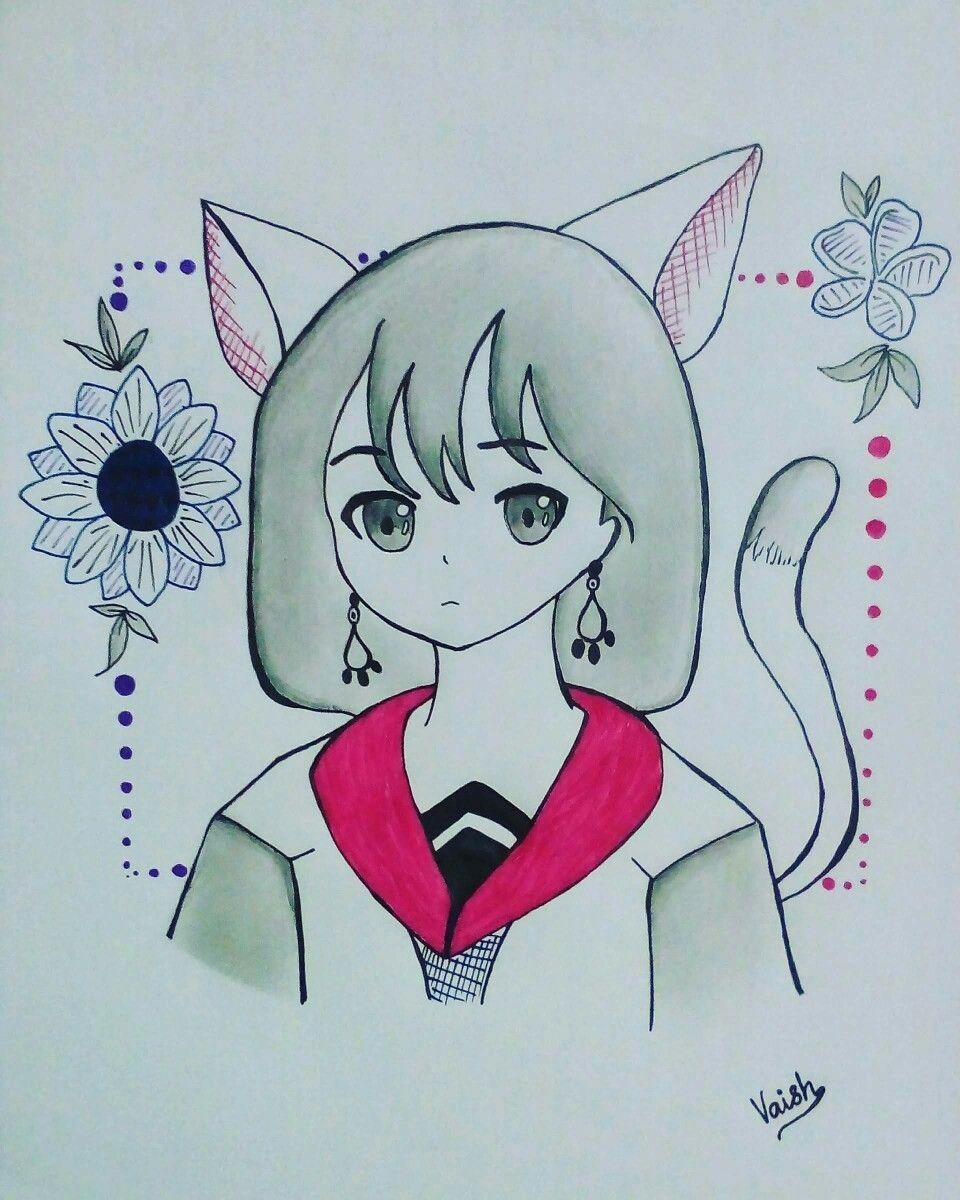 Neko Midori in 2020 Anime, Neko, Character