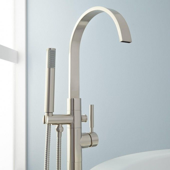 Benkei Freestanding Tub Faucet And Hand Shower