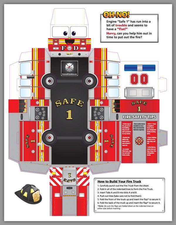 brandweer knutselwerkjes - Google Search