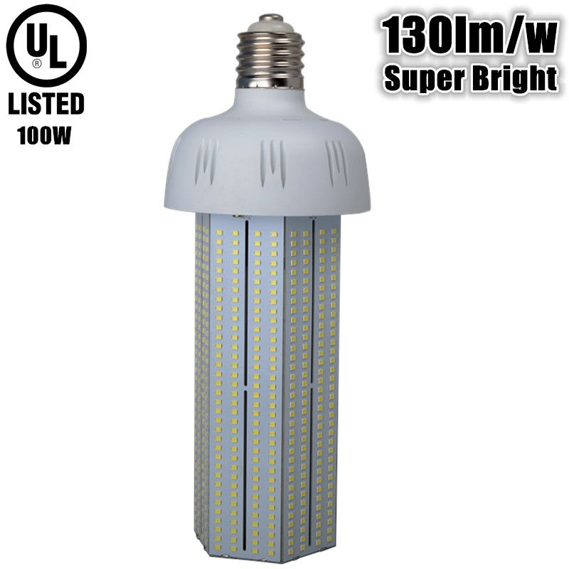 130lm W Super Bright 100w Led Corn Bulb E40 E39 Ac110v 220v 230v 240v 100w Led Bulb Replace 250w Metal H With Images High Pressure Sodium Lights Led Bulb Incandescent Lamp