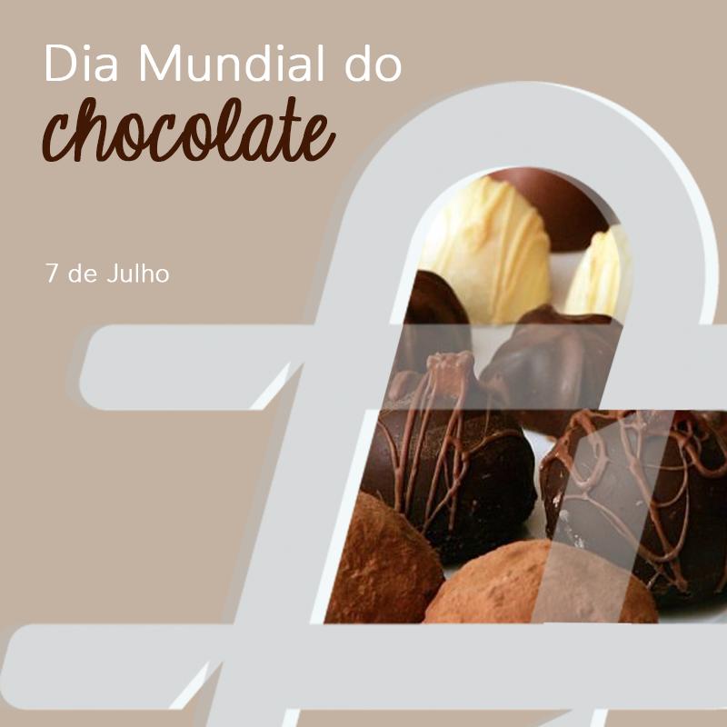 Hoje é o Dia Mundial do Chocolate. Declare o seu amor! 🍫❤️  #DiaMundialdoChocolate #WorldChocolateDay #ChocolateDay