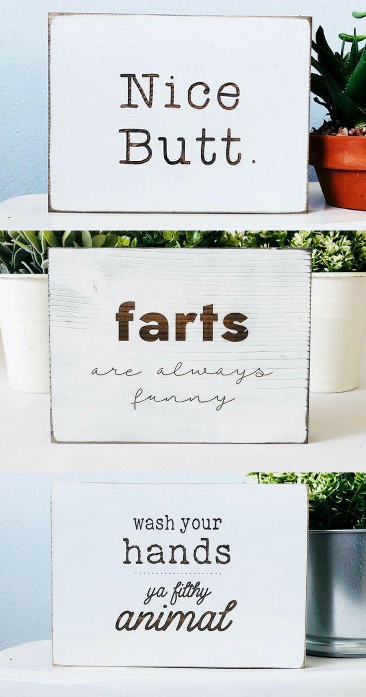 Funny Bathroom Signs  Free Shipping  Funny bathroom signs