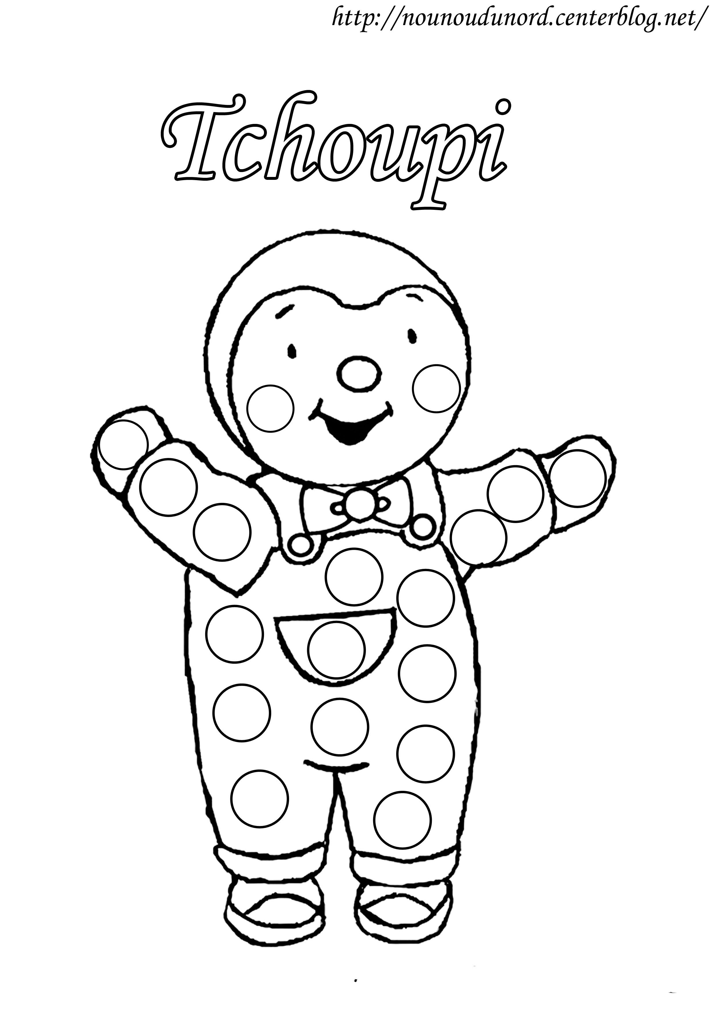 Wallpapers Dessin Coloriage Tchoupi Imprimer Bricolage