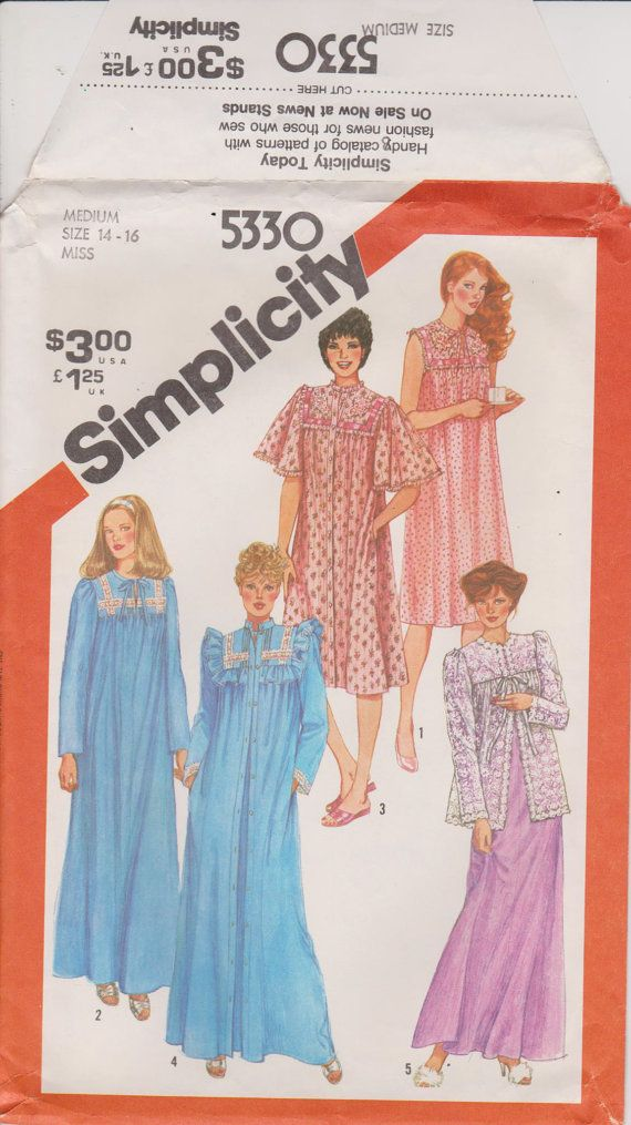8cda0a748b Simplicity 5330 Sewing Pattern Women s by n2Imaginations on Etsy (Craft  Supplies   Tools