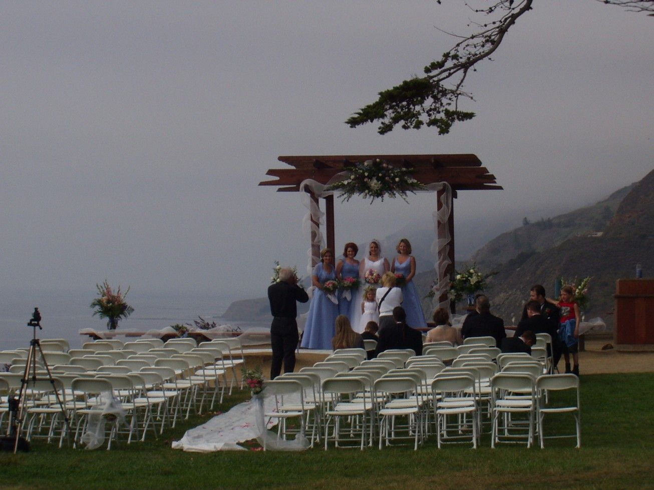 Wedding Arches For Outdoor Weddings   ... Wedding Ceremony Wedding Arch  Flower Chairs For