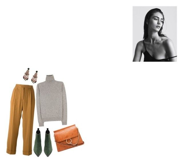 """""""and what does remain, after all?"""" by sodanceinthedark ❤ liked on Polyvore featuring moda, Marco de Vincenzo, Jil Sander, Acne Studios, Chloé, Winter, trousers, acnestudios e wintertrend"""