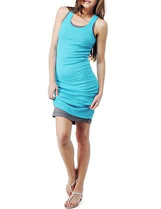 2x1 racer back #dress #fashion $57 splendid