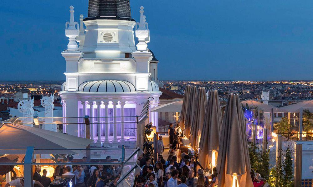 Restaurante Parq Rooftop El Paracaidista Terrazas Madrid Terrazas Reina Victoria