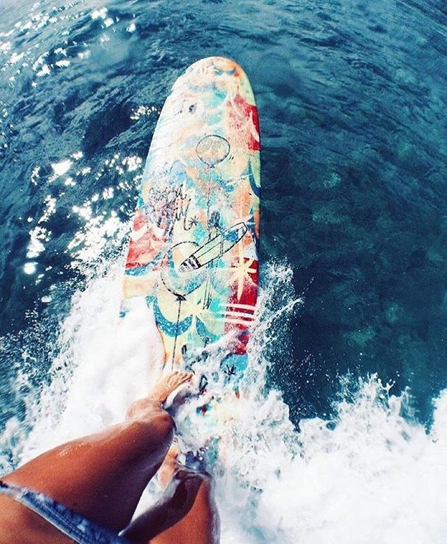 Girls Surfing Wallpaper: // Chargabriella //