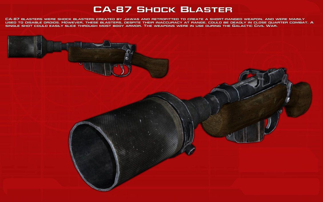 CA-87 Shock Blaster tech readout [New] by unusualsuspex.deviantart.com on @DeviantArt
