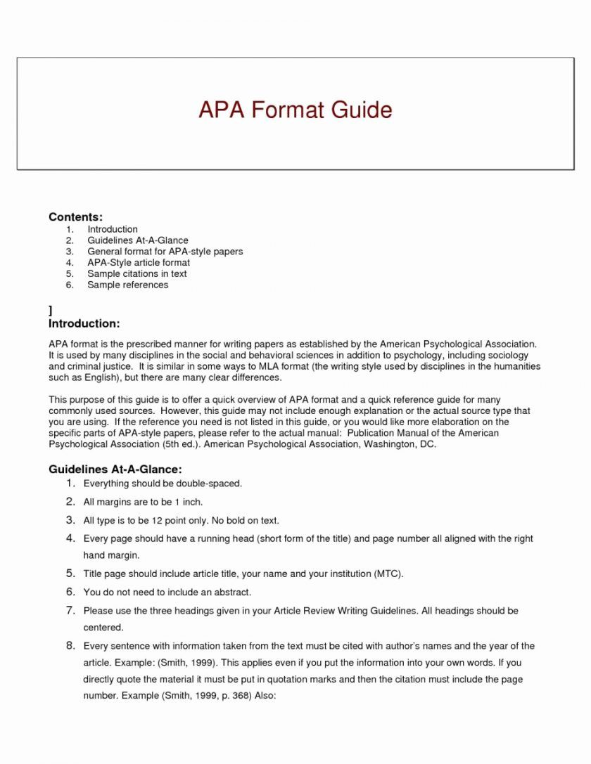 The Enchanting Apa Style Research Er Template Word Sample Outline 6th With Regard To Edit Paper How Reference A Article In Format
