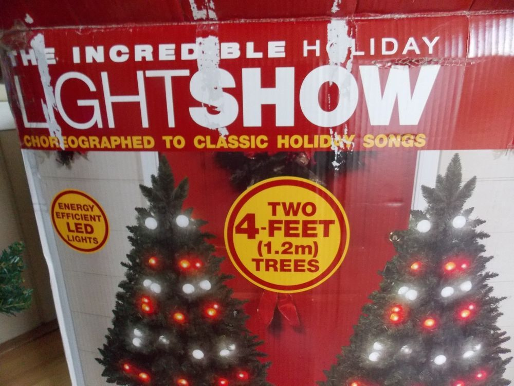 GEMMY Incredible Light Show Musical Light Up Color Changing Christmas Tree  Trees - GEMMY Incredible Light Show Musical Light Up Color Changing