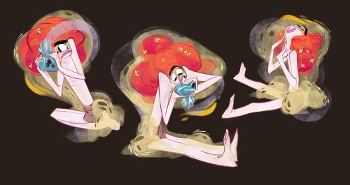 A Bjork inspired character from a project I'm trying to work on. I think this is all I'll show till it's finished:)