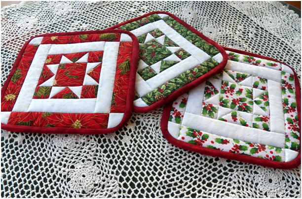 Enchanting Hot Pad Patterns To Sew Inspiration - Easy Scarf Knitting ...