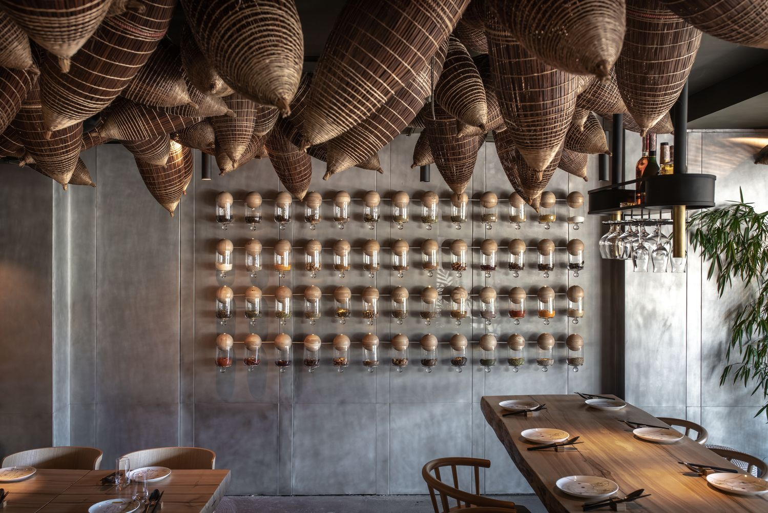 Gallery Of Spicy Nospicy Restaurant Yod Design Lab 4 In 2020 Bar Design Awards Bar Design Restaurant Bar Design