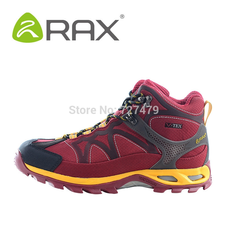 106.59$  Buy now - http://aliq4b.worldwells.pw/go.php?t=32568179224 - Rax Double Waterproof Men Boots Non Slip Resistant Outdoor Shoes Men Lightweight Cushioning Winter Boots Top Quality A602