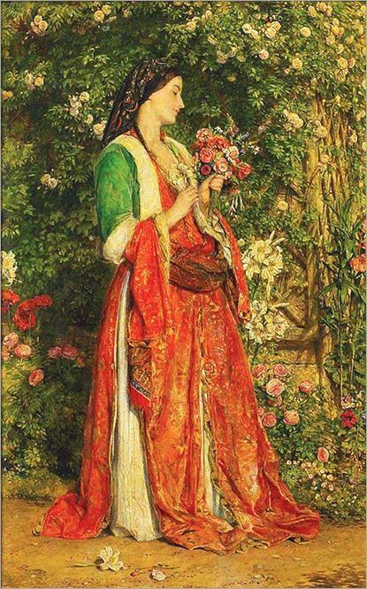 Um Autor Duas Obras John Frederick Lewis Inglaterra Arte
