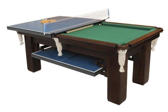bbe22740f mesa de ping-pong - mesa de snooker - mesa para refeições. Há mesas com bancos  compridos onde se guardam as bolas e tacos.