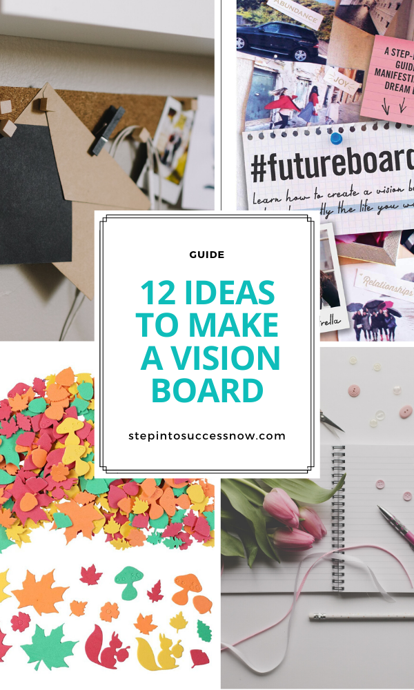 Gift Ideas For People Who Love Vision Boards Vision Board Party Vision Board Party Supplies Vision Board