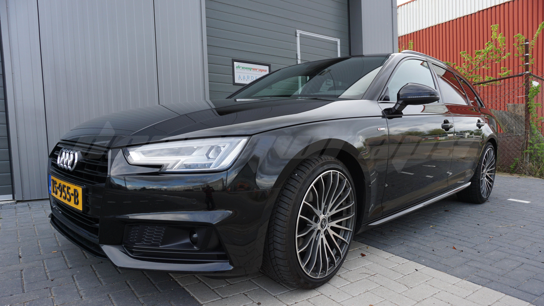 Audi A4 S Line Avant Chrome Delete Met 3m Gloss Black Audi A4 Audi Auto
