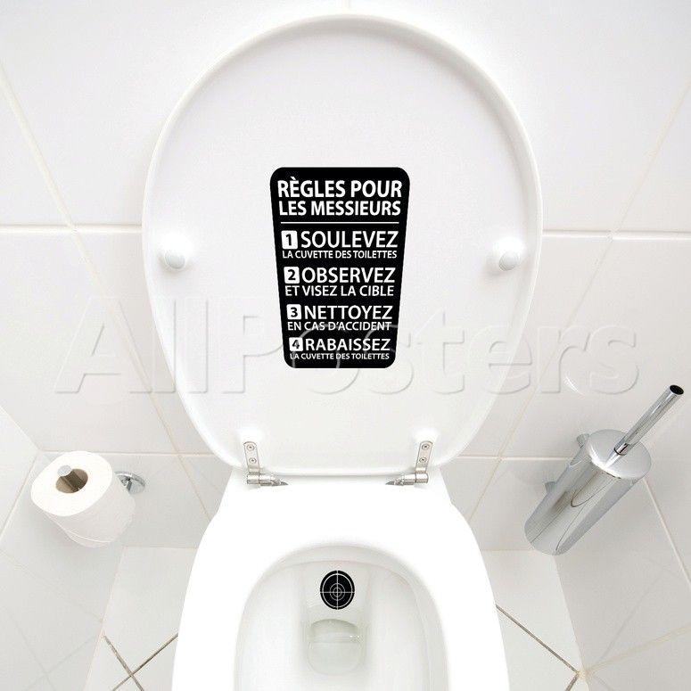Pour Mes Hommes Affiche Toilette Toilettes Propres Toilettes