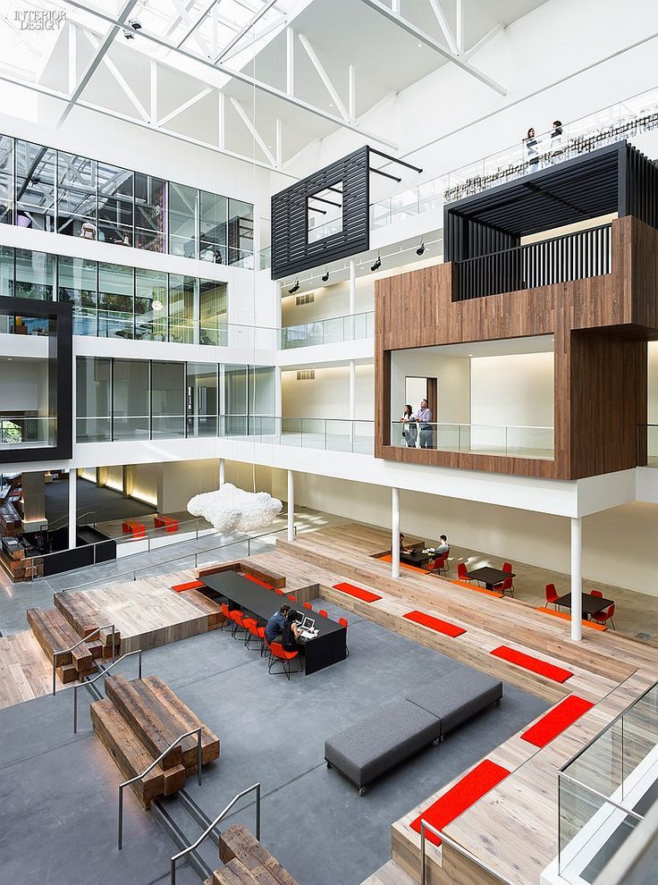 For the conversion of 888 Brannan  originally constructed in 1917 as the  Eveready Battery Company warehouse  Gensler created workspace.