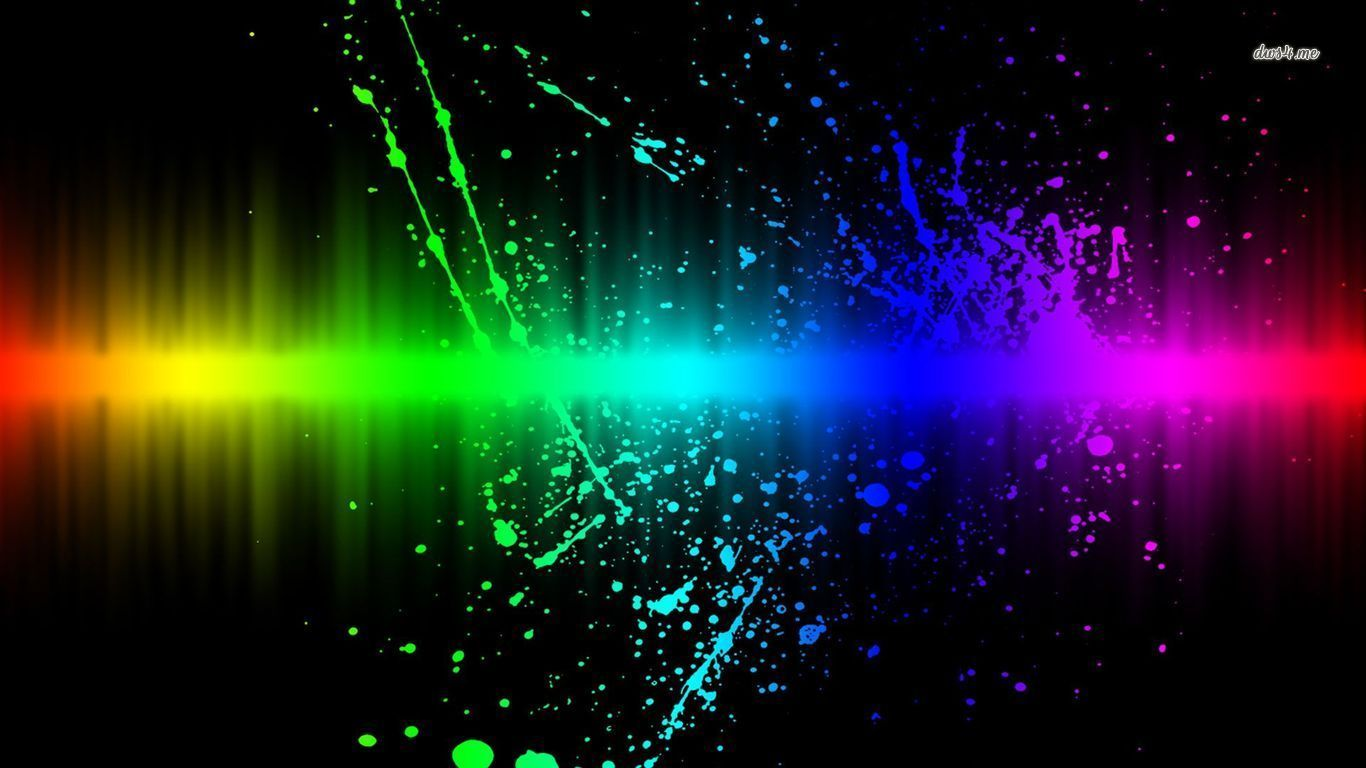 abstract rainbow background wallpaper black - photo #41