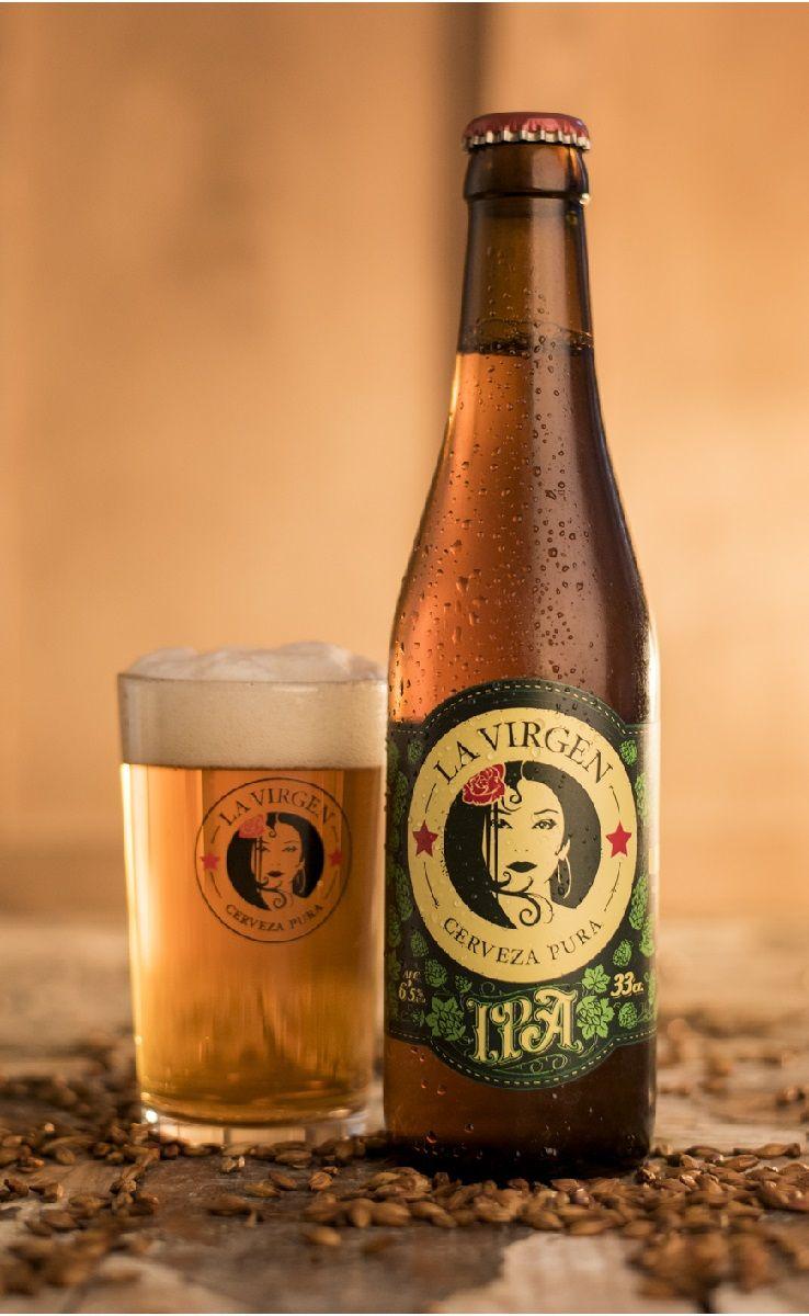 Cerveza Artesanal La Virgen Ipa India Pale Ale Ipa 6 5 Abv