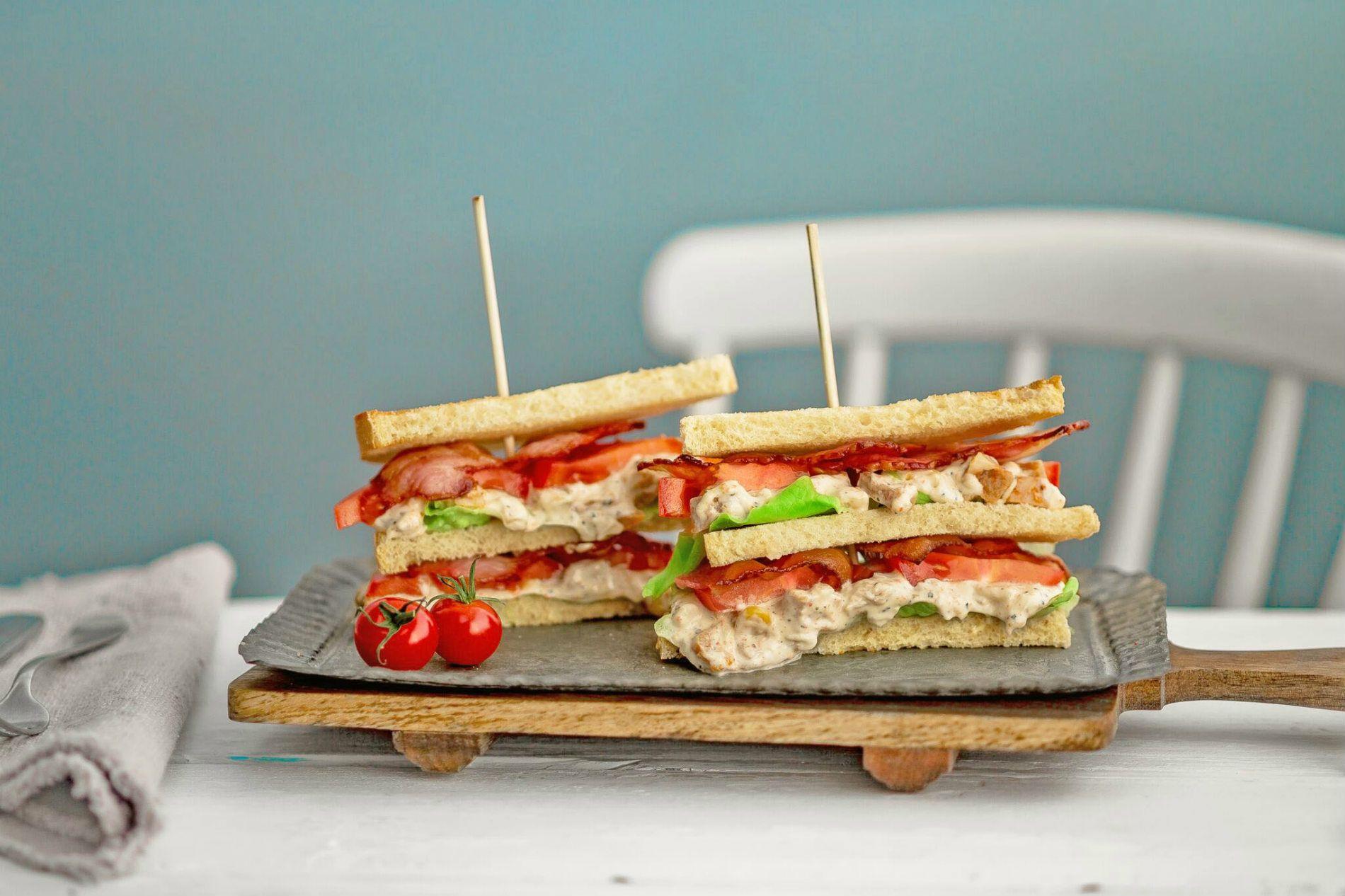 klassisk club sandwich