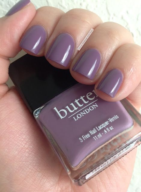 Fierce Makeup and Nails: butter LONDON: Scoundrel