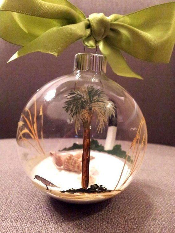 Hand Painted Christmas Bulbs Custom Made Hand Painted Glass