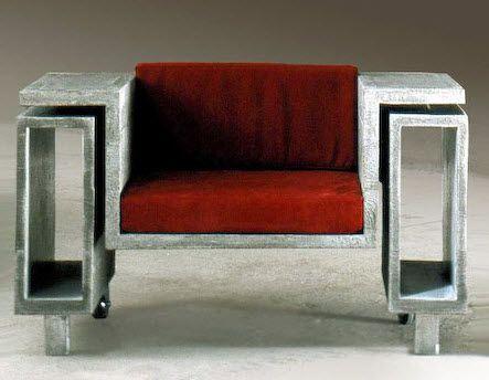 original design concrete armchair - ELEMENT - ArchiExpo
