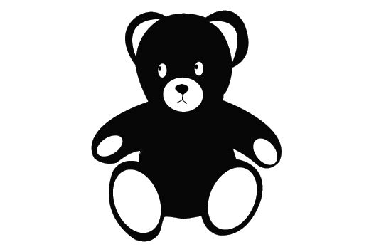 Teddy Bear Silhouette Vector Free Download Bear Silhouette Silhouette Illustration Silhouette Vector