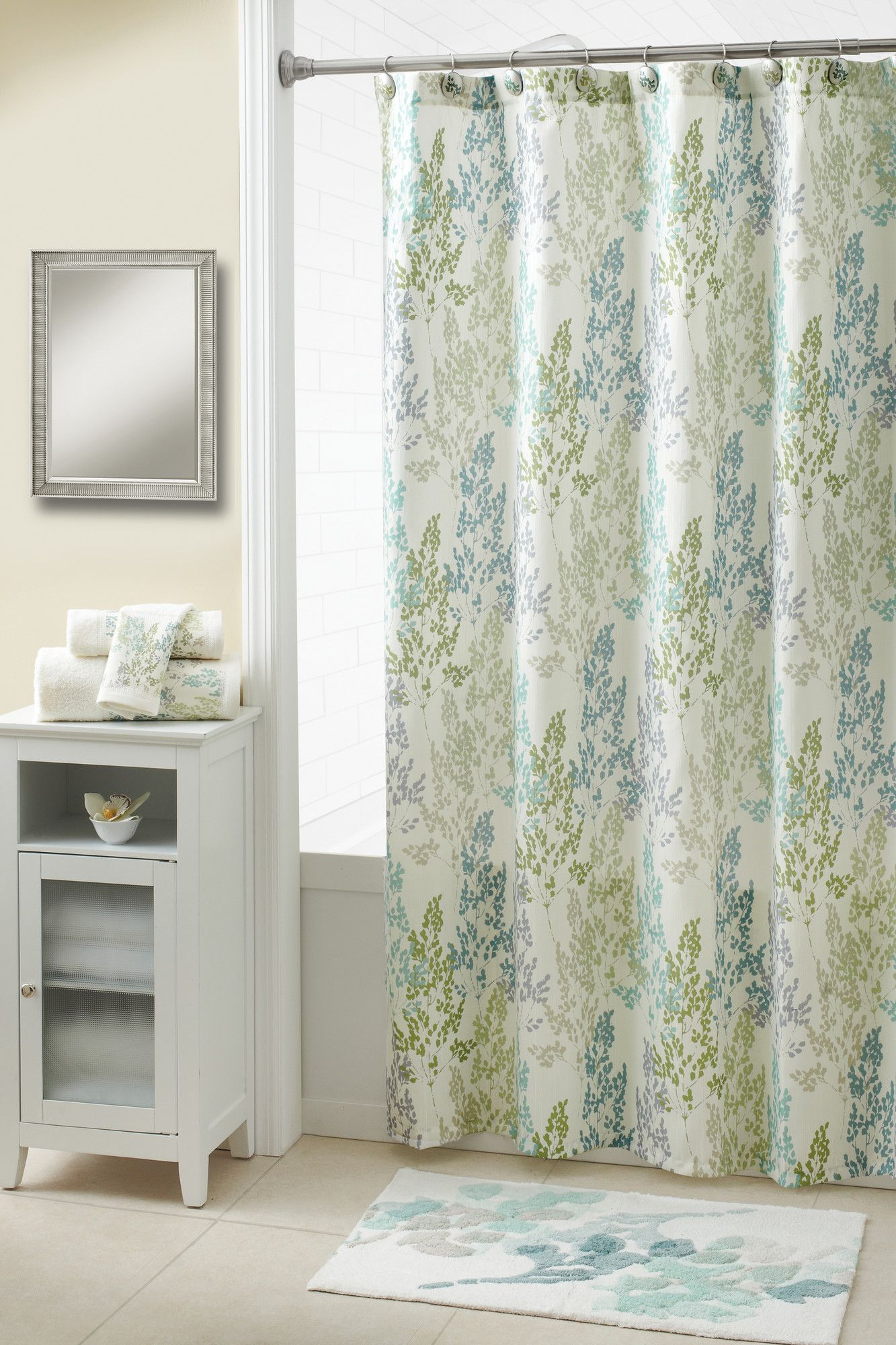 Croscill Spring Meadow Polyester Shower Curtain Wayfair With