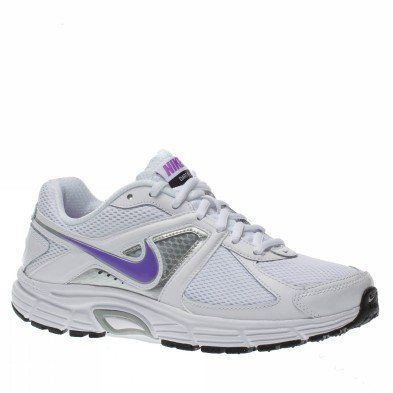 matar Física Sociable  Nike Women's NIKE DART 9 WMNS RUNNING SHOES 8 (WHITE/BRIGHT VIOLET/METALLIC  SILVER) | Nike running shoes women, Nike, Womens running shoes