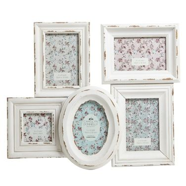 cream Carolyn Donnelly Eclectic Multi Aperture Frame   Photo Frames ...