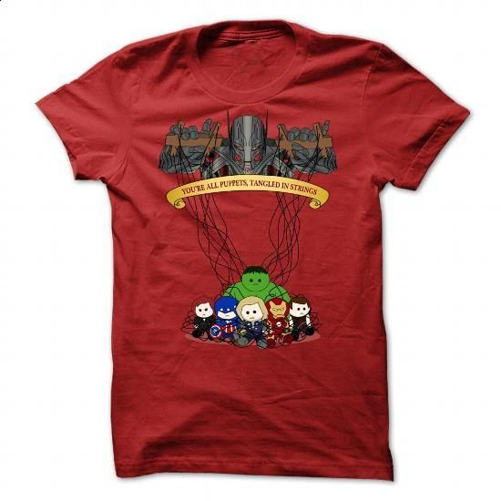 youre all puppets Tee - #shirt pattern #hoodie sweatshirts. MORE INFO => https://www.sunfrog.com/Funny/you-Red-45257325-Guys.html?68278